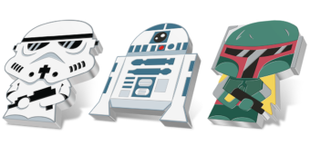 Star Wars Chibi Coin Series from NZ Mint
