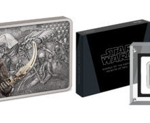 New Knights of Ren Silver Coin from NZ Mint