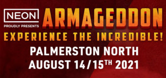 Palmerston North Armageddon Event Announced for August