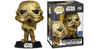 Gold-Coloured Exclusive Funko Stormtrooper