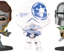 Super-Sized Star Wars Pop Vinyl Figures