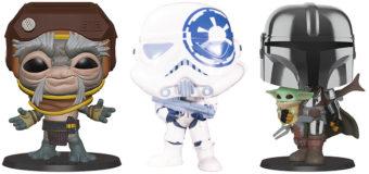 Super-Sized Star Wars Pop Vinyl Figures