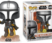 Glow-in-the-Dark Flying Mando Pop! Vinyl Figure