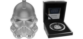 Clone Trooper Helmet Coin from NZ Mint