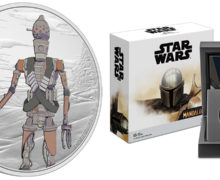 IG-11 Added To NZ Mint Mandalorian Coin Series