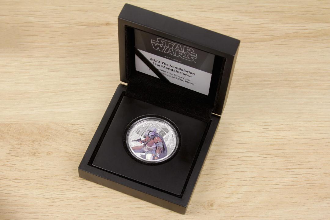 NZ Mint 1oz Silver Coins - The Mandalorian