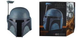 Death Watch Mandalorian Black Series Replica Helmet at EB Games