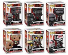 Bad Batch Pop! Vinyl Figures