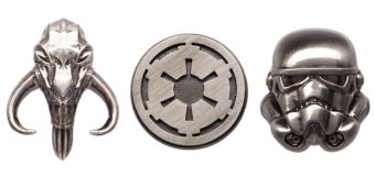 New Product – Pewter Star Wars Lapel Pins