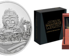 Classic Episode 1 Anakin Skywalker Coins from NZ Mint