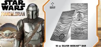 Silver Beskar Bars from NZ Mint