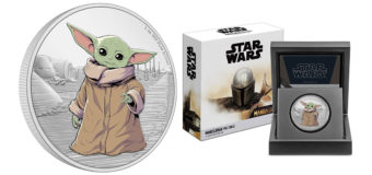 Grogu/The Child Added To NZ Mint Mandalorian Coin Series