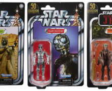 Exclusive LFL 50th 3.75″ TVC Figures at Zavvi