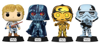 Retro Comic-Style Pop Vinyl Star Wars Figures