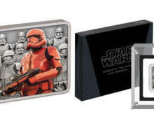New Sith Trooper Silver Coin from NZ Mint