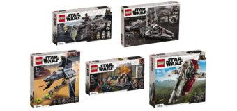 New Star Wars LEGO Sets at The Warehouse