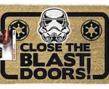 """Stormtrooper """"Blast Doors"""" Door Mat"""